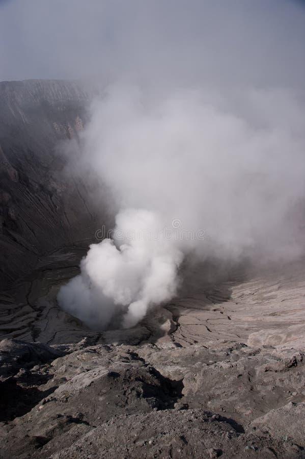 爆发气体 免版税图库摄影