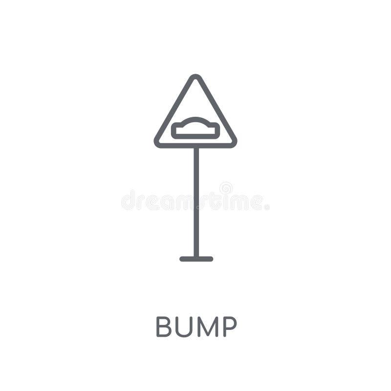 爆沸标志线性象 现代概述爆沸标志商标概念  库存例证