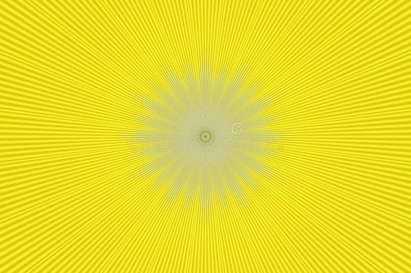 射线光芒背景例证光 爆炸摘要 库存例证