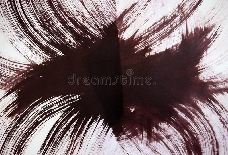 爆炸,星系的螺旋自转的和谐的惊人的能量, 库存照片