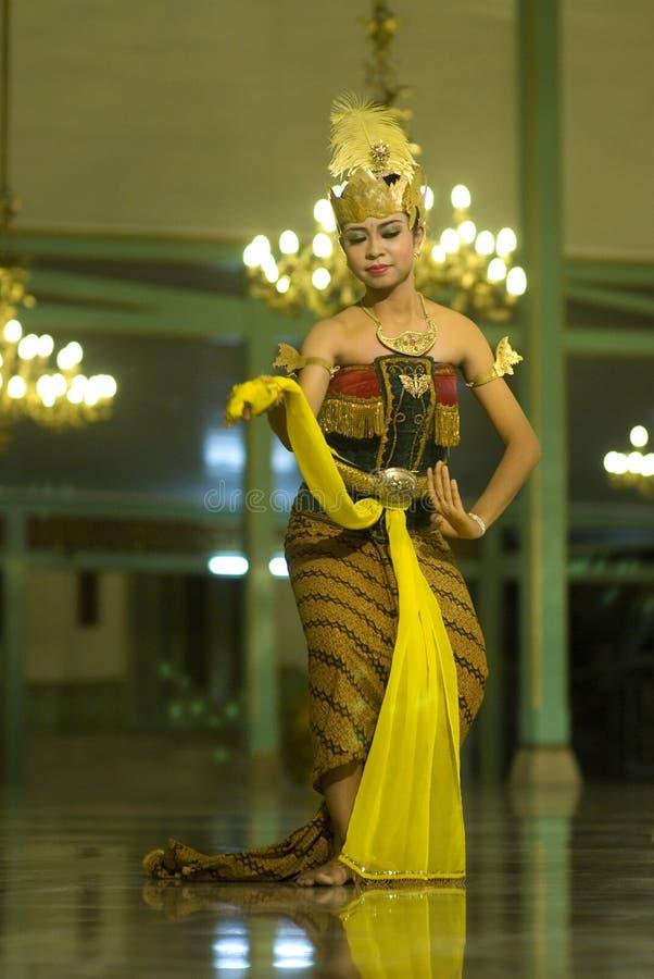 爪哇舞蹈 免版税库存照片