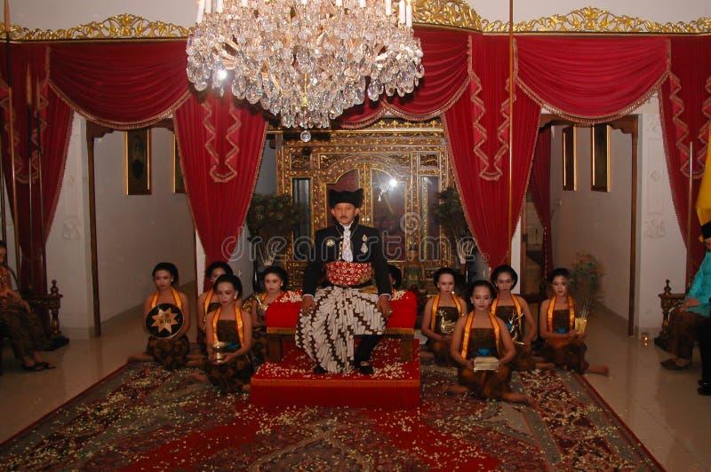 爪哇贵族政府 图库摄影