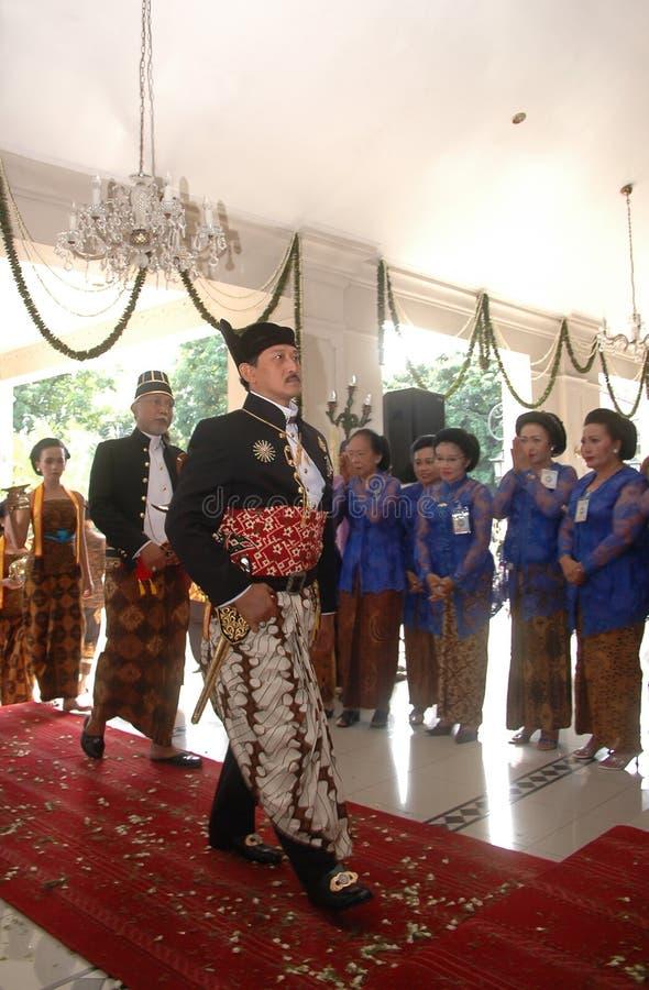 爪哇贵族政府 库存图片