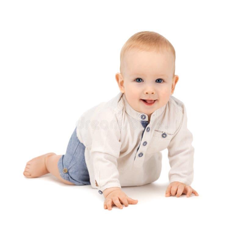 Download 爬行的男婴 库存照片. 图片 包括有 人力, 滑稽, 可爱, 少许, 敬慕, 无忧无虑, 无辜, 孩子, 乐趣 - 30336388