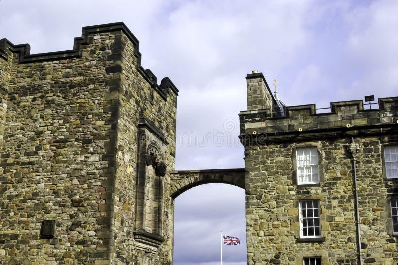 爱丁堡城堡,爱丁堡 免版税库存照片