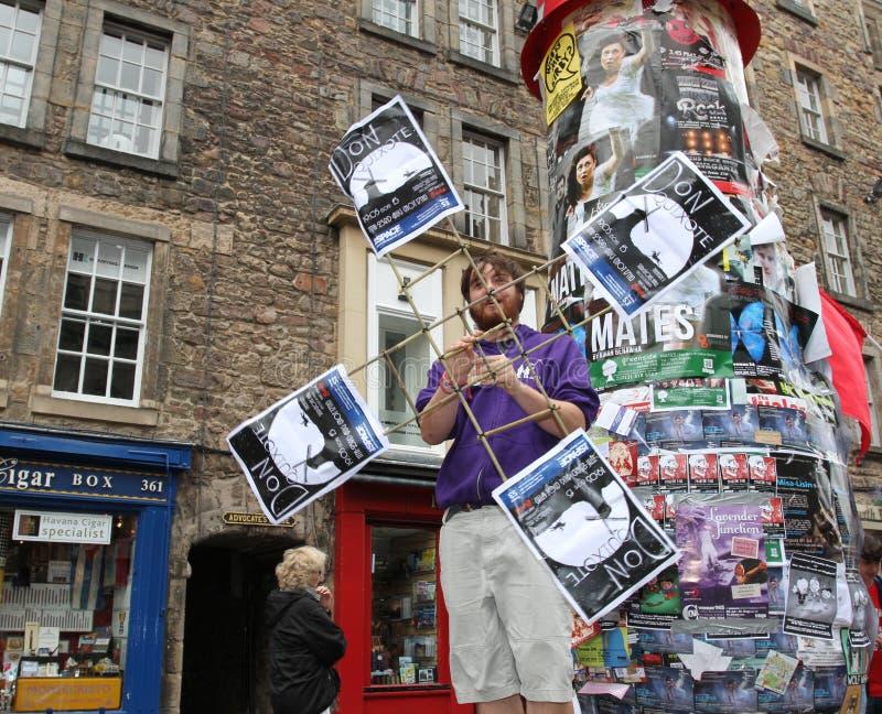 爱丁堡节日附加费用执行者 图库摄影