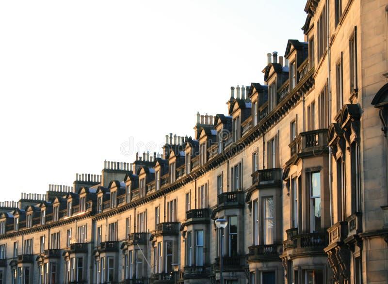 爱丁堡街道 图库摄影