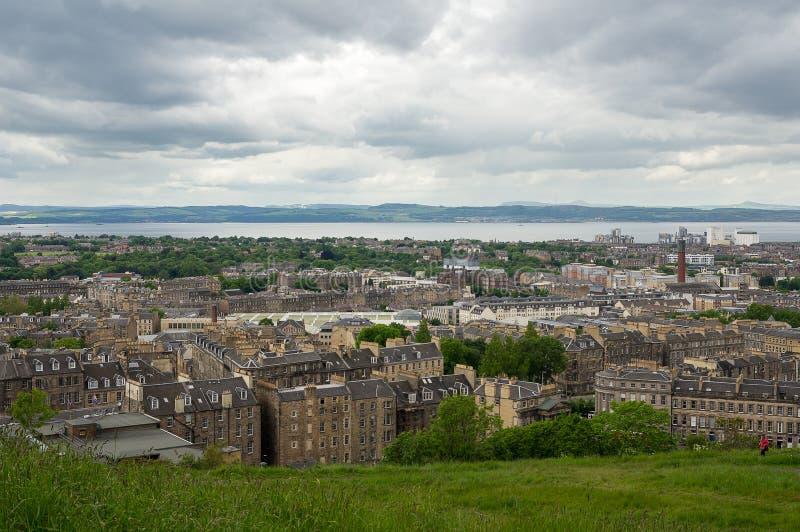 爱丁堡视图 免版税图库摄影