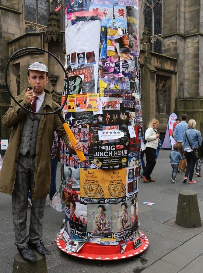 爱丁堡边缘节日2016年 免版税库存照片