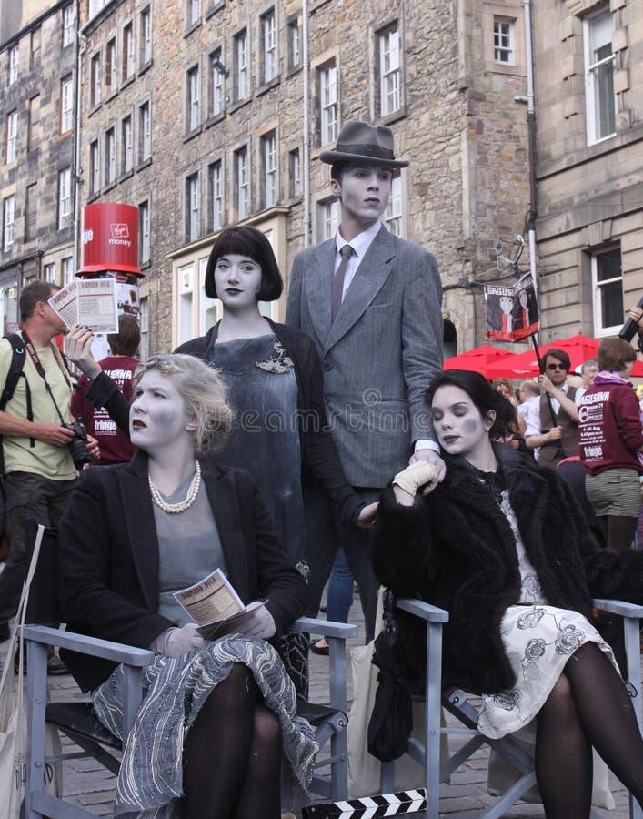 爱丁堡附加费用节日2011年 库存照片