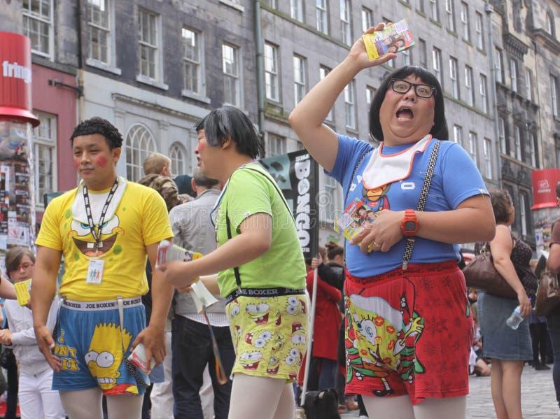 爱丁堡附加费用节日2011年 免版税库存照片