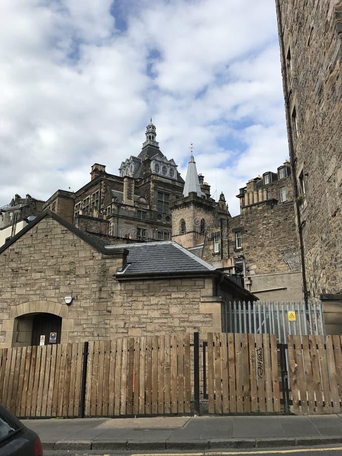 """爱丁堡,苏格兰英国†""""2017年8月11日:中世纪 免版税库存照片"""