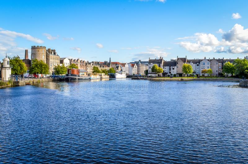 爱丁堡,苏格兰-岸 库存照片