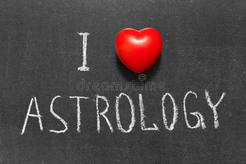爱占星术 库存图片