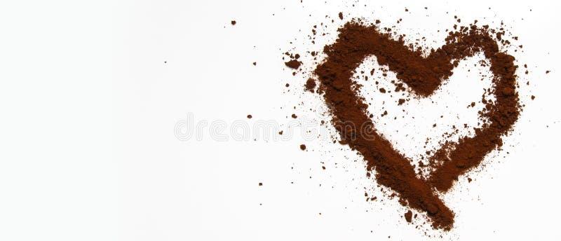 爱咖啡艺术  免版税库存图片