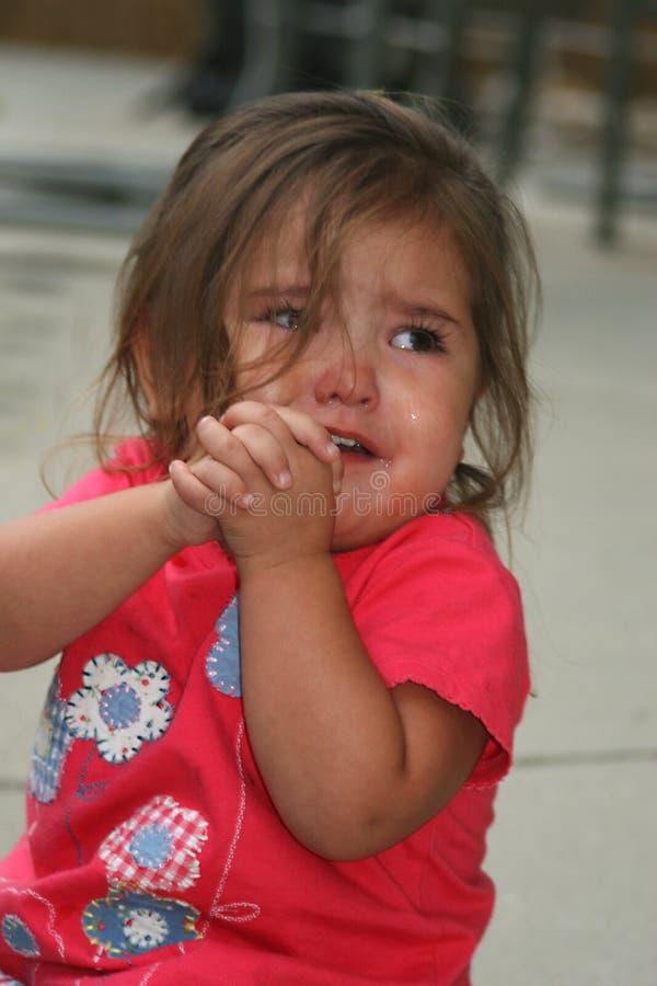 爱哭的人 免版税库存图片