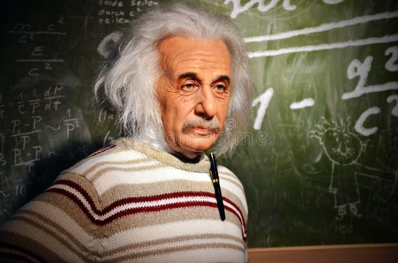 爱因斯坦复制品  库存图片