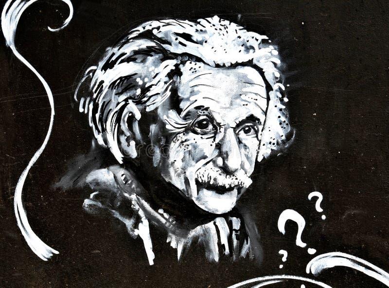 爱因斯坦 库存图片