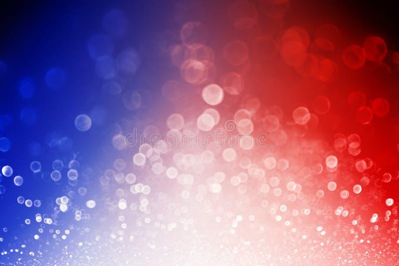 爱国主义7月4日红白蓝色背景