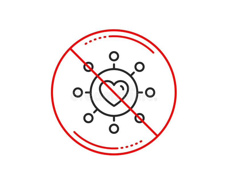 爱国际日期更改线象 关系网络 向量 库存例证