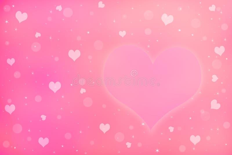 爱垂悬在晒衣绳的标志和心脏 图库摄影