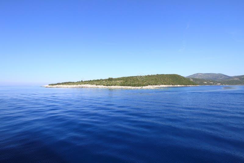 爱奥尼亚人海岛 免版税库存图片