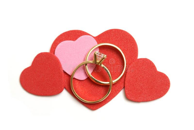 爱婚姻 库存照片