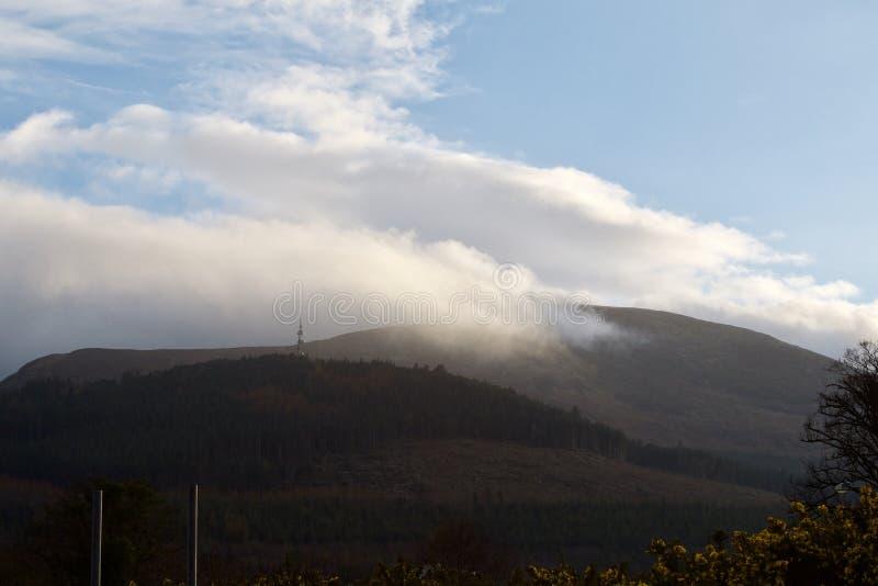 爱尔兰北山的mourne 免版税图库摄影