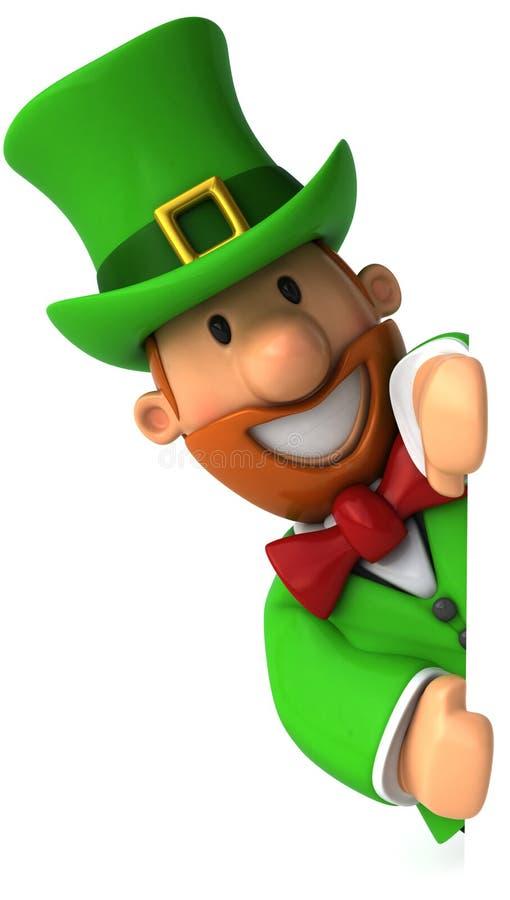 爱尔兰妖精 库存例证