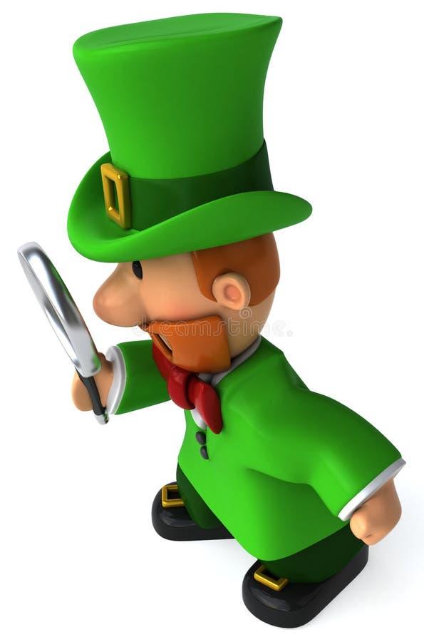 爱尔兰妖精 皇族释放例证
