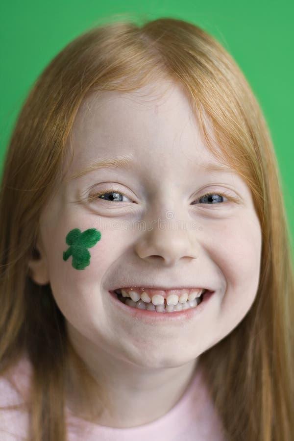爱尔兰微笑 库存照片