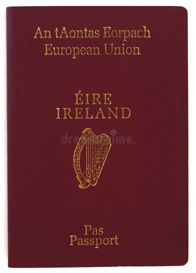 爱尔兰护照 免版税图库摄影