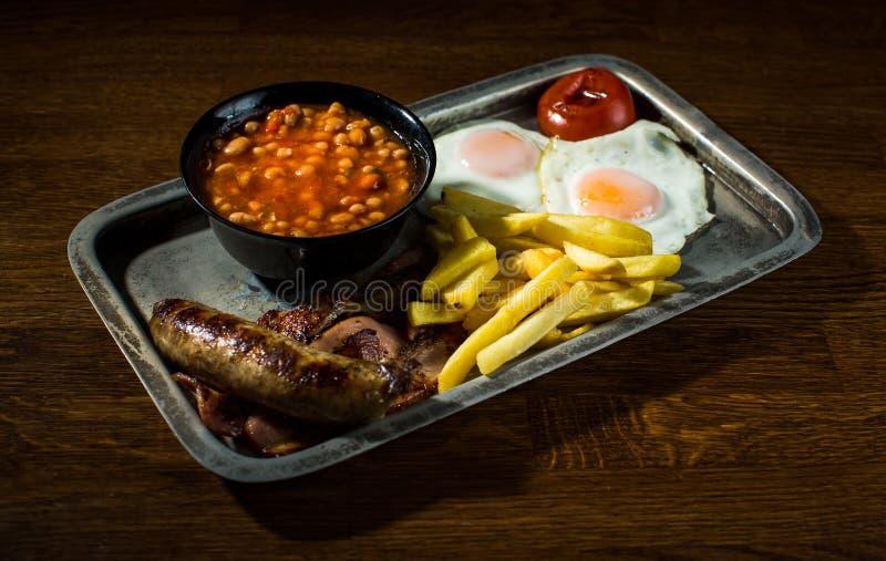 爱尔兰早餐 库存图片
