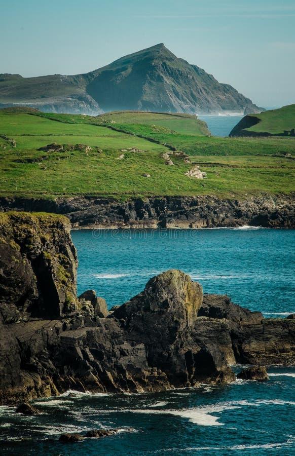 爱尔兰海岸线 免版税库存图片
