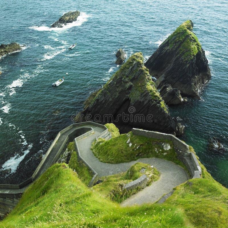 爱尔兰海景 库存图片