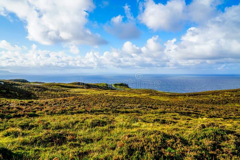 爱尔兰的难以置信的风景 库存图片