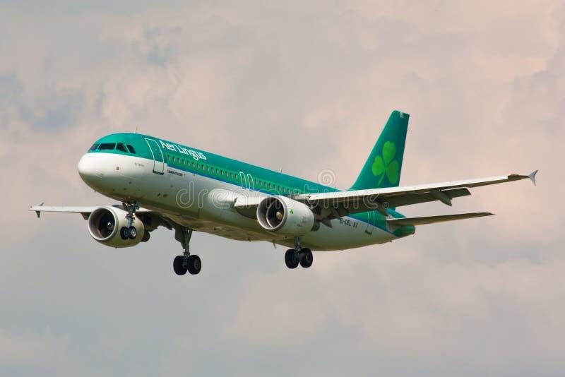 A320爱尔兰航空 图库摄影