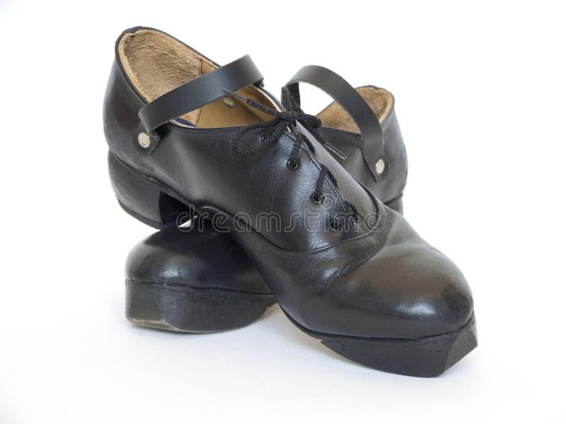 爱尔兰语跳舞的hardshoes 免版税库存照片