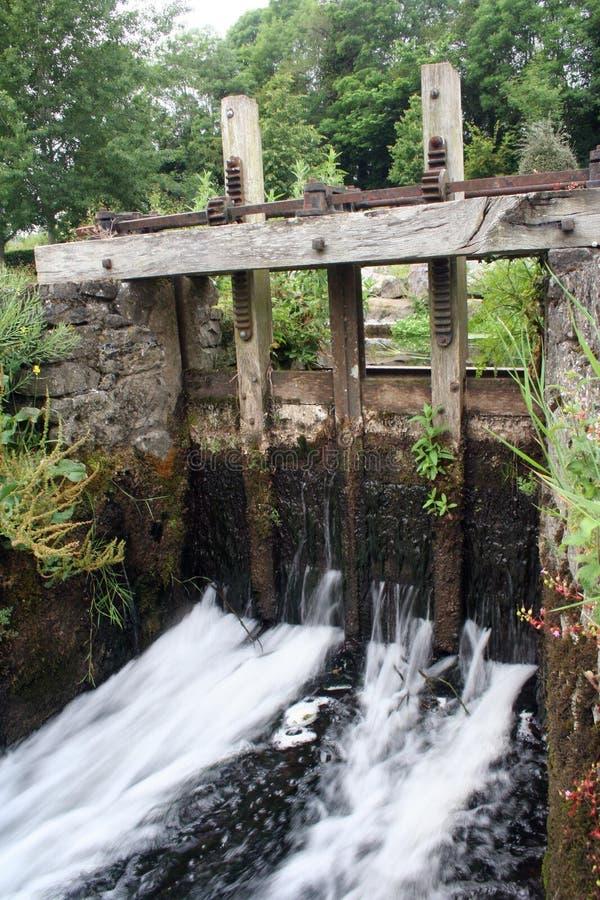 爱尔兰锁定水 免版税库存照片