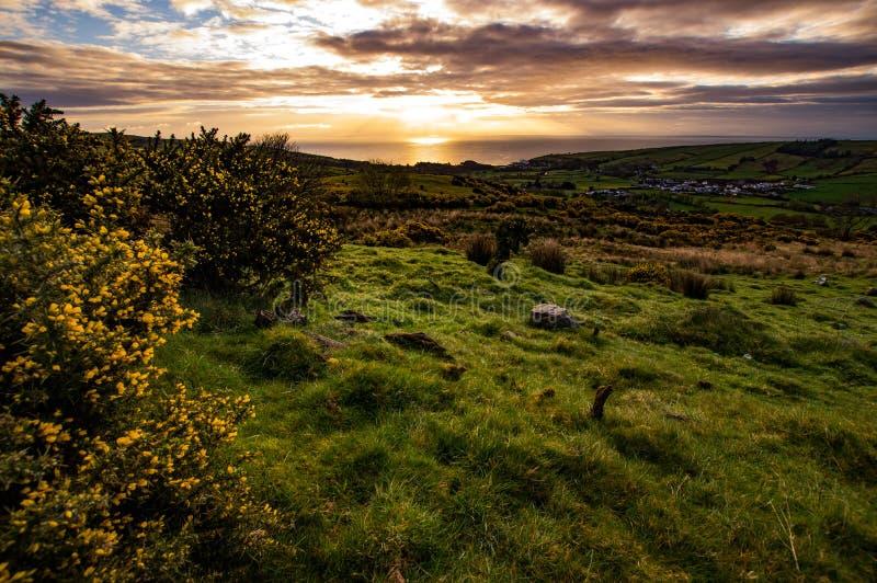 爱尔兰风景 免版税库存照片