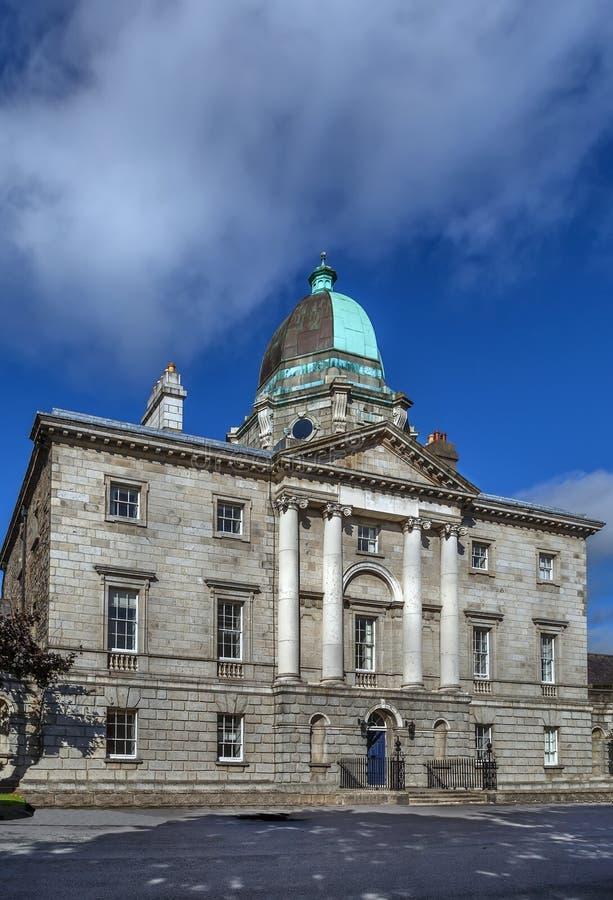 爱尔兰,都伯林法律社会 免版税库存照片