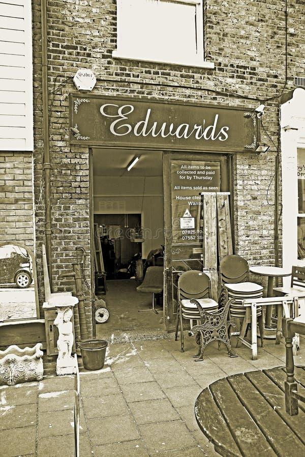 爱德华兹拍卖商场房子 库存照片