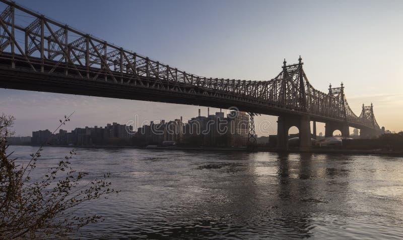 爱德Koch皇后区大桥 免版税库存图片