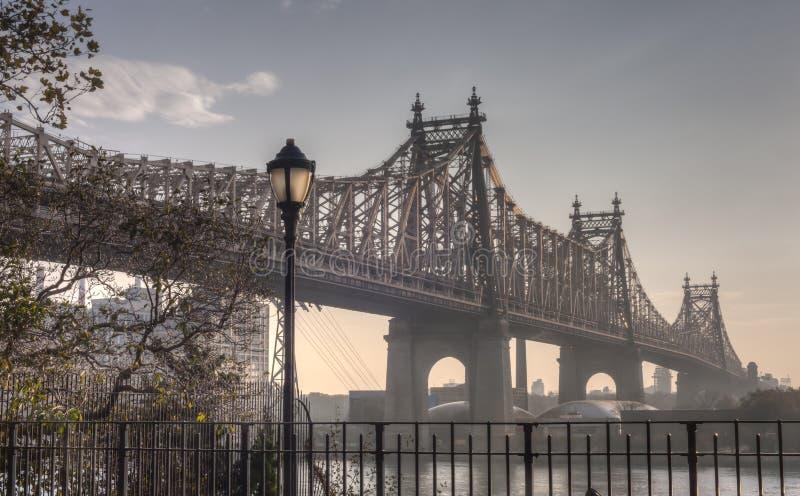 爱德Koch皇后区大桥 库存照片