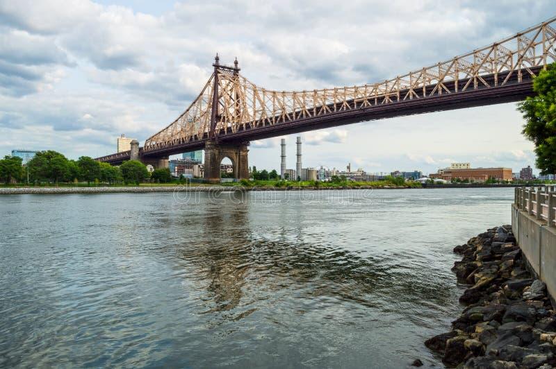 爱德Koch皇后区大桥 库存图片