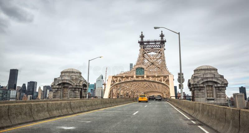 爱德Koch皇后区大桥 免版税库存照片