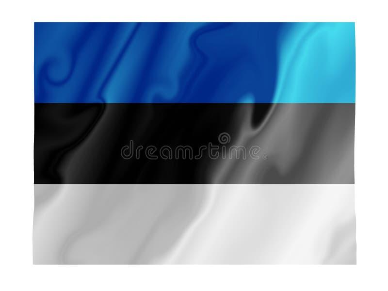 爱沙尼亚振翼 向量例证
