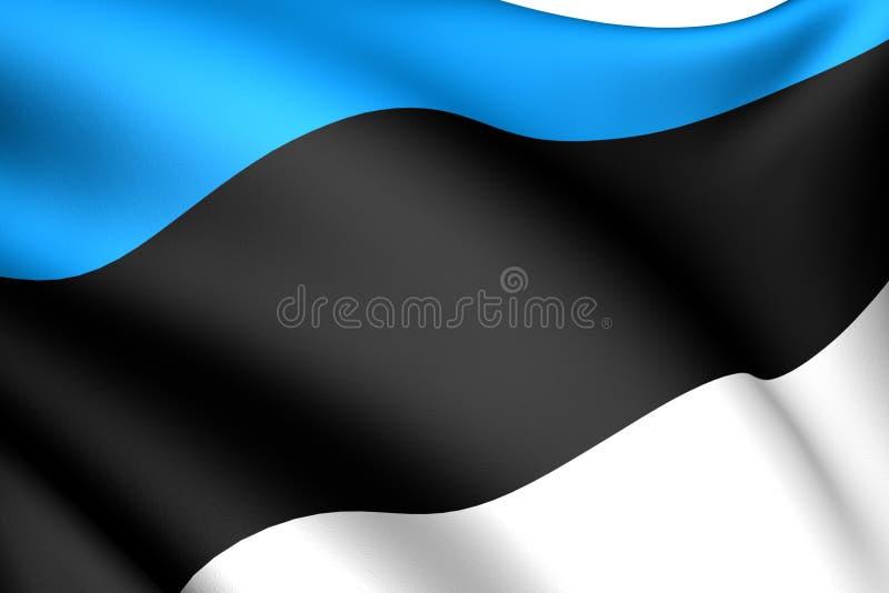 爱沙尼亚标志 皇族释放例证