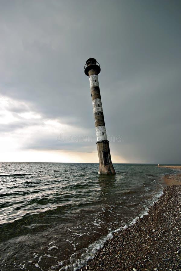 爱沙尼亚灯塔 库存图片