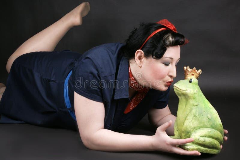 爱的Rockabilly女孩 免版税图库摄影